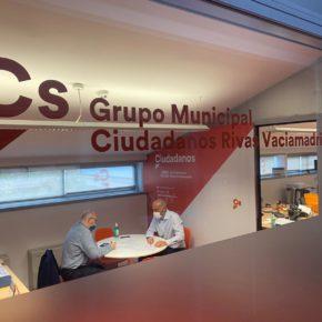 Ciudadanos (Cs) Rivas critica la dejadez del equipo de Gobierno en la adaptación de las puertas de Cerro del Telégrafo