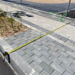 Ciudadanos (Cs) Rivas critica que el Ayuntamiento construya aceras que no cumplen con la normativa de accesibilidad